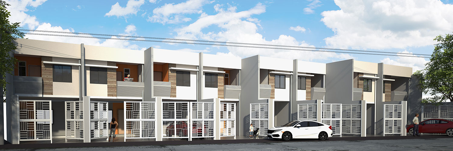 2-Storey Townhouses at Zapanta, Antipolo